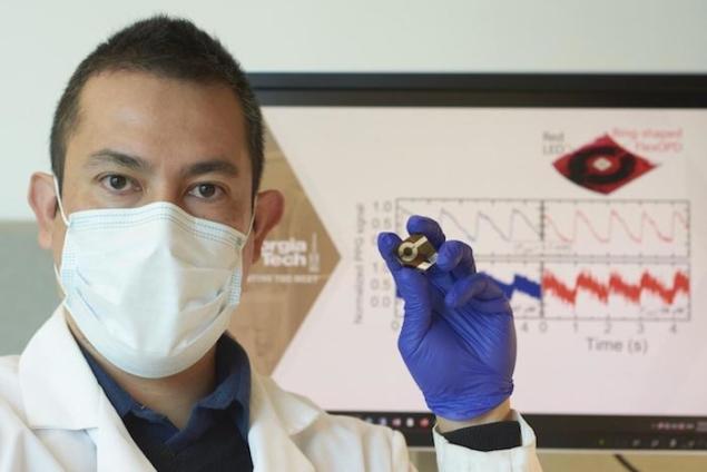 柔性有机光电二极管比最尖端的硅光电二极管具有明显的优势