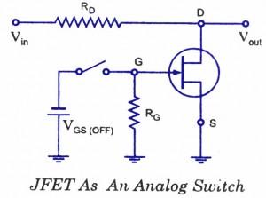 JFET-结型场效应晶体管模拟开关