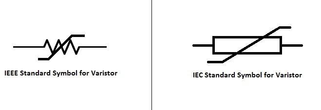 压敏电阻-标准符号