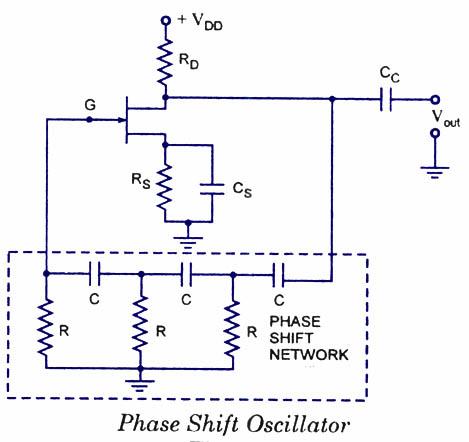 FET-场效应晶体管相移振荡器