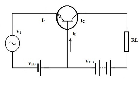 作为放大器的晶体管电路设计图