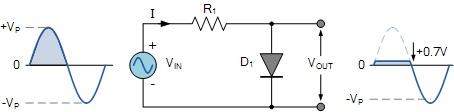 二极管钳位电路的工作原理