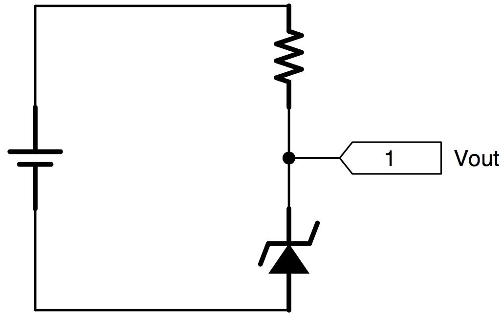 稳压二极管电路图