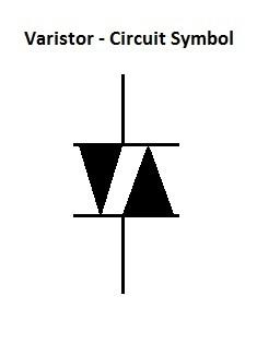 压敏电阻-电路符号